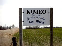 Kimeo sign