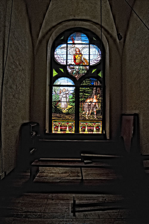 St. Michael's stained glass