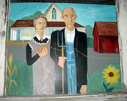 American Gothic with Twine