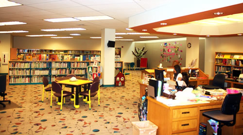 First Floor at the Grant County Library
