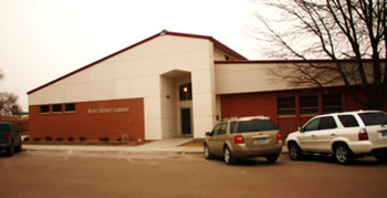 Scott County Library outside